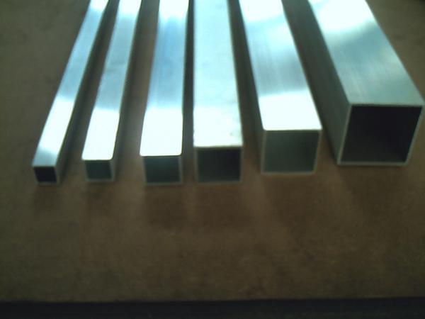 アルミ製 四角パイプ(正方形)材(A6063)生地材 切り売り 小口 販売加工 A20_画像2