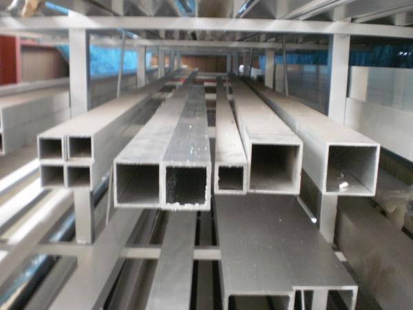 アルミ製 四角パイプ(正方形)材(A6063)生地材 切り売り 小口 販売加工 A20_画像1