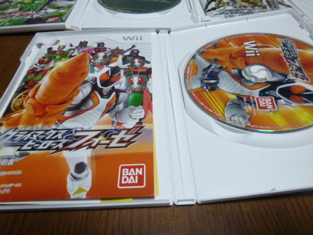 L31【即日配送 送料無料 動作確認済】Wiiソフト 仮面ライダークライマックスヒーローズ