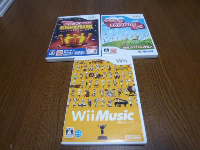 P22【即日配送 送料無料 動作確認済】Wiiソフト カラオケジョイサウンド DX Wiiミュージック