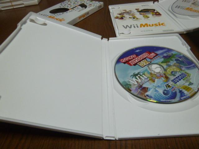 Q10【即日配送 送料無料 動作確認済】Wiiソフト カラオケジョイサウンド DX スーパーDX Wiiミュージック
