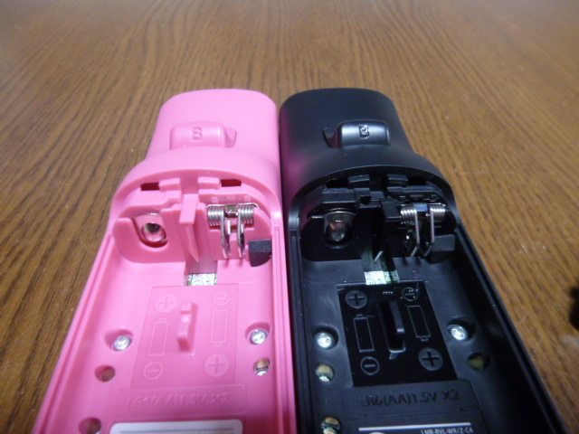 R98【即日配送 送料無料 動作確認済】Wiiリモコン モーションプラス 2個セット RVL-036 ピンク ブラック 純正