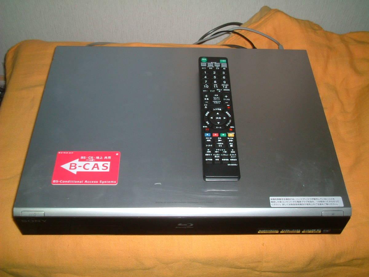 1ヶ月保証 ソニー BDZ-T70  HDD/DVD/ブルーレイ/ レコーダー   2番組同時録画 新品リモコン B-CASカード付き_画像2