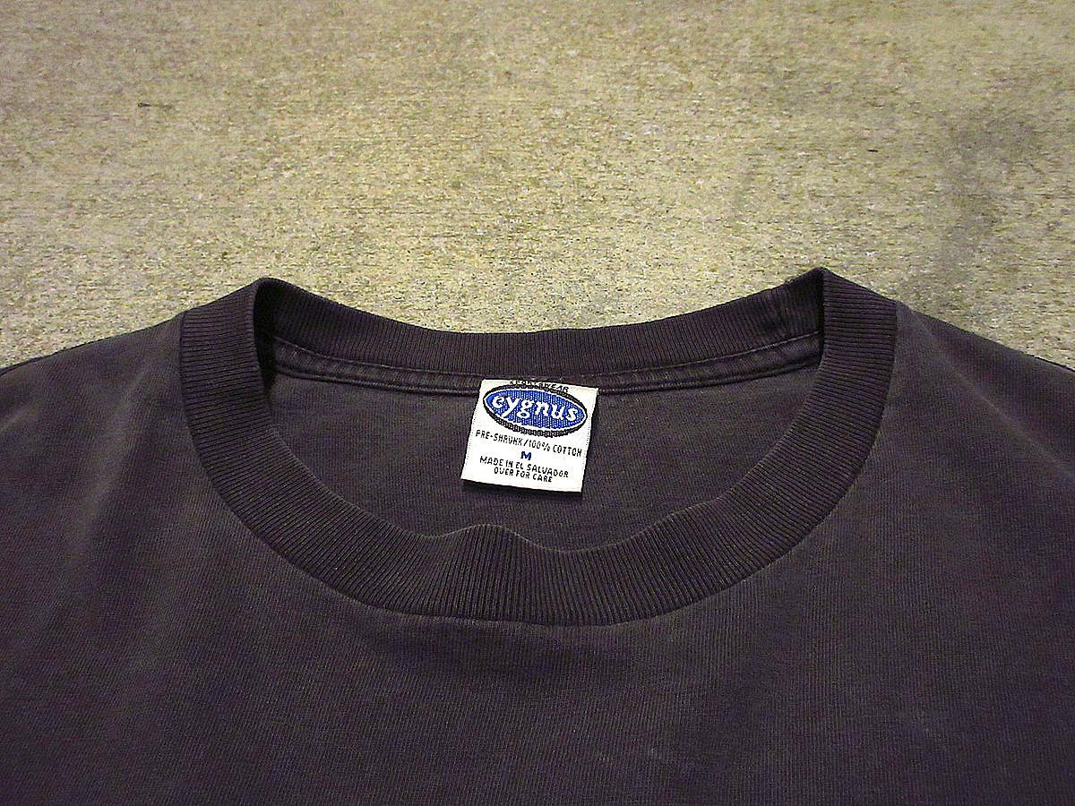 ビンテージ90's●Cheap TrickコットンプリントTシャツ黒size M●210417s3-m-tsh-bnバンTロックバンド古着ブラックメンズUSAトップス半袖_画像5