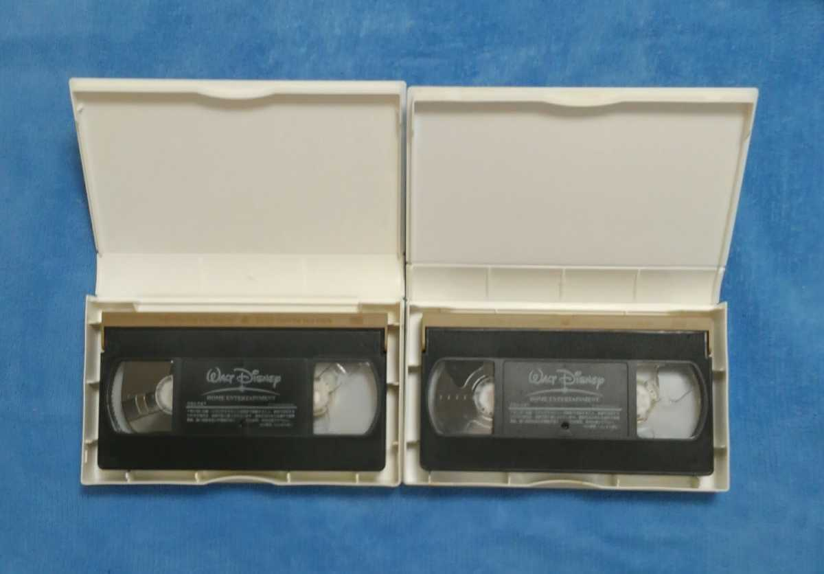 VHSビデオ ファインディングニモ ブラザーベア 2本セット