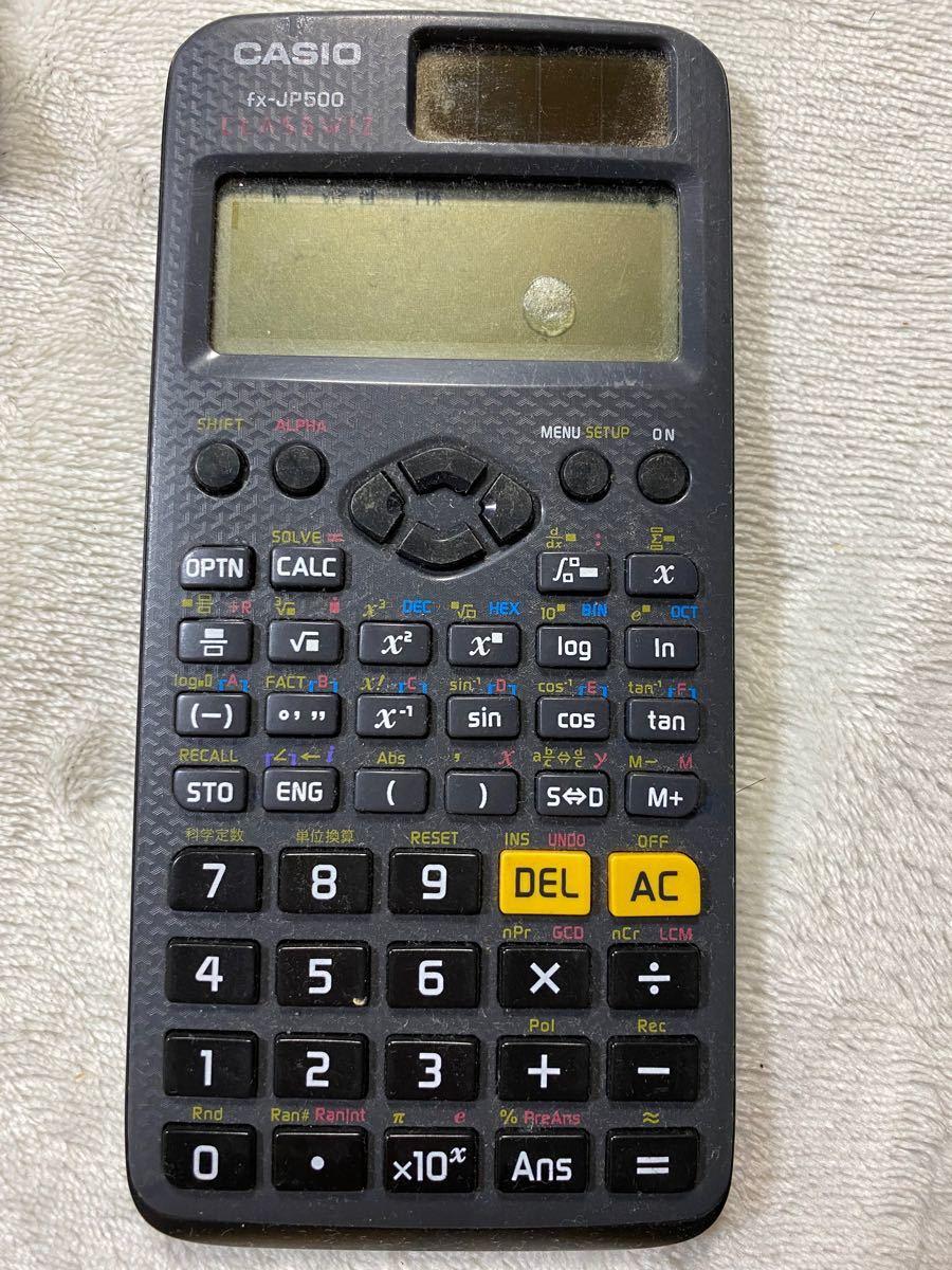 CASIO fx-JP500 関数電卓