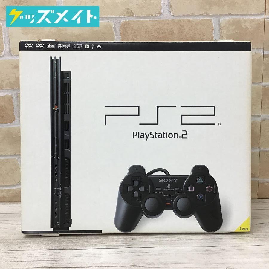 【現状】 PiayStation2 本体 SCPH-70000 CB Charcoal Black / PS2