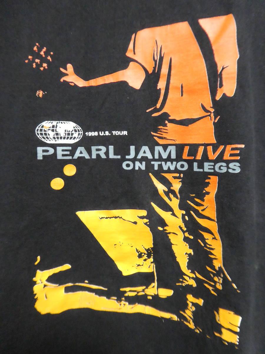 90s パールジャム ヴィンテージバンドTシャツ Pearl Jam PEARLJAM ニルヴァーナジェリーロレンゾソニックユース_画像2