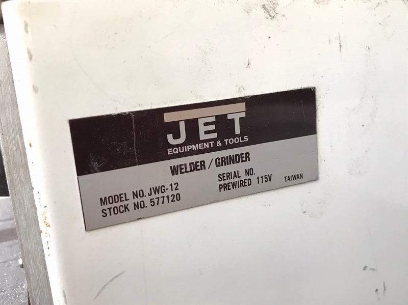 【米軍放出品】POWERMATIC バンドソー 切断機 ブレード溶接機付き JET WG-12 電動工具 帯鋸盤 ☆BD26ACM-W_画像10