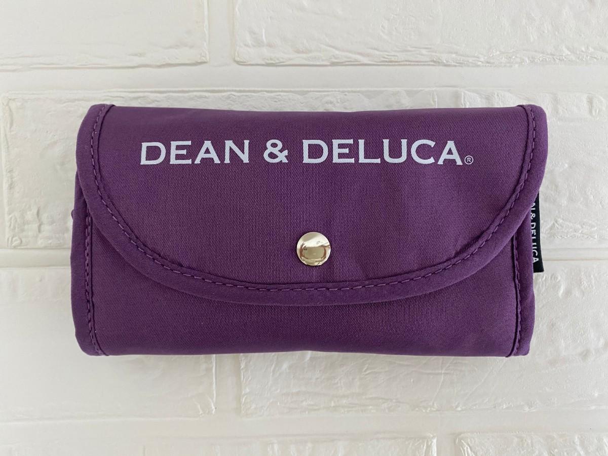 残りわずか★京都限定★ DEAN & DELUCA  エコバッグ  紫