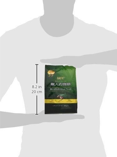 UCC 職人の珈琲 コーヒー 豆(粉) 深いコクのスペシャルブレンド 300g_画像5