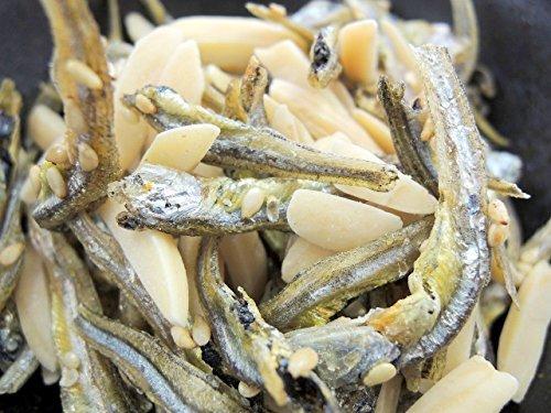▽△★小袋 アーモンドフィッシュ 100袋 お徳用パック 給食用 国産小魚_画像3