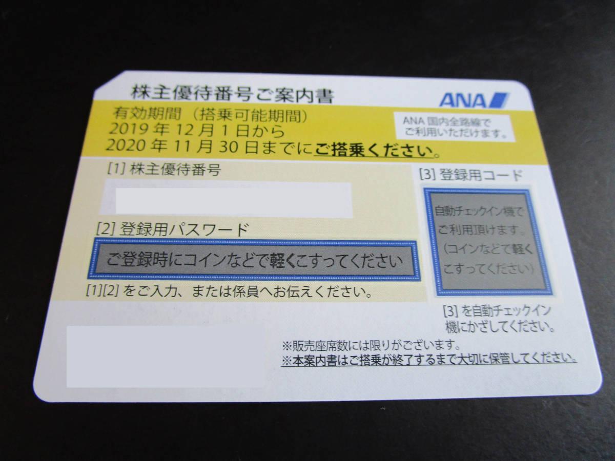 ANA 全日空 株主優待券 8枚_画像2