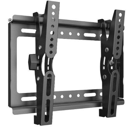 テレビ 壁掛け 金具 Himino 高品質14~40インチ モニター LCD LED液晶テレビ 上下調節式 VESA対応 最大250*210mm 耐荷重25kg(ネジ付属)_画像1