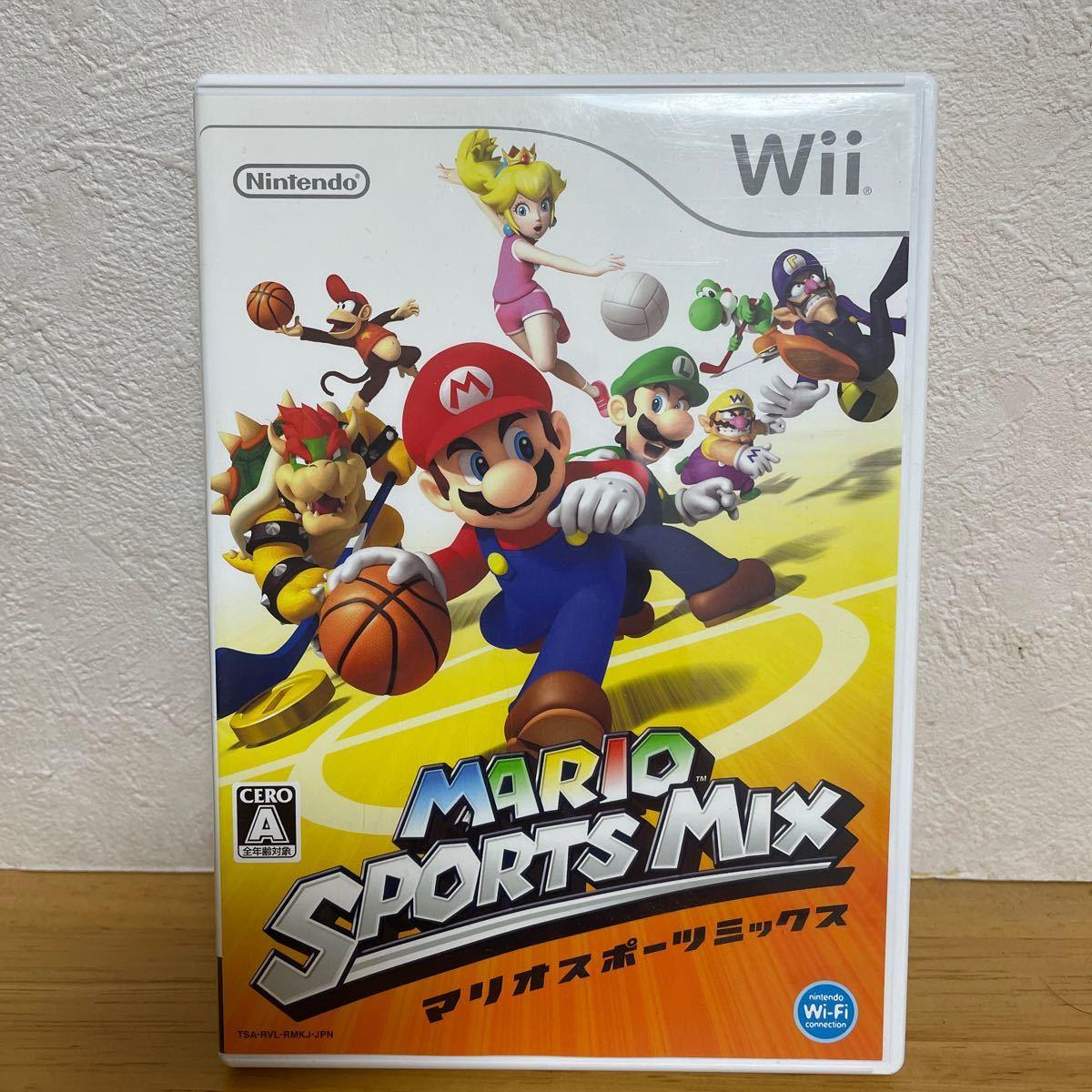 Wiiソフト マリオスポーツミックス