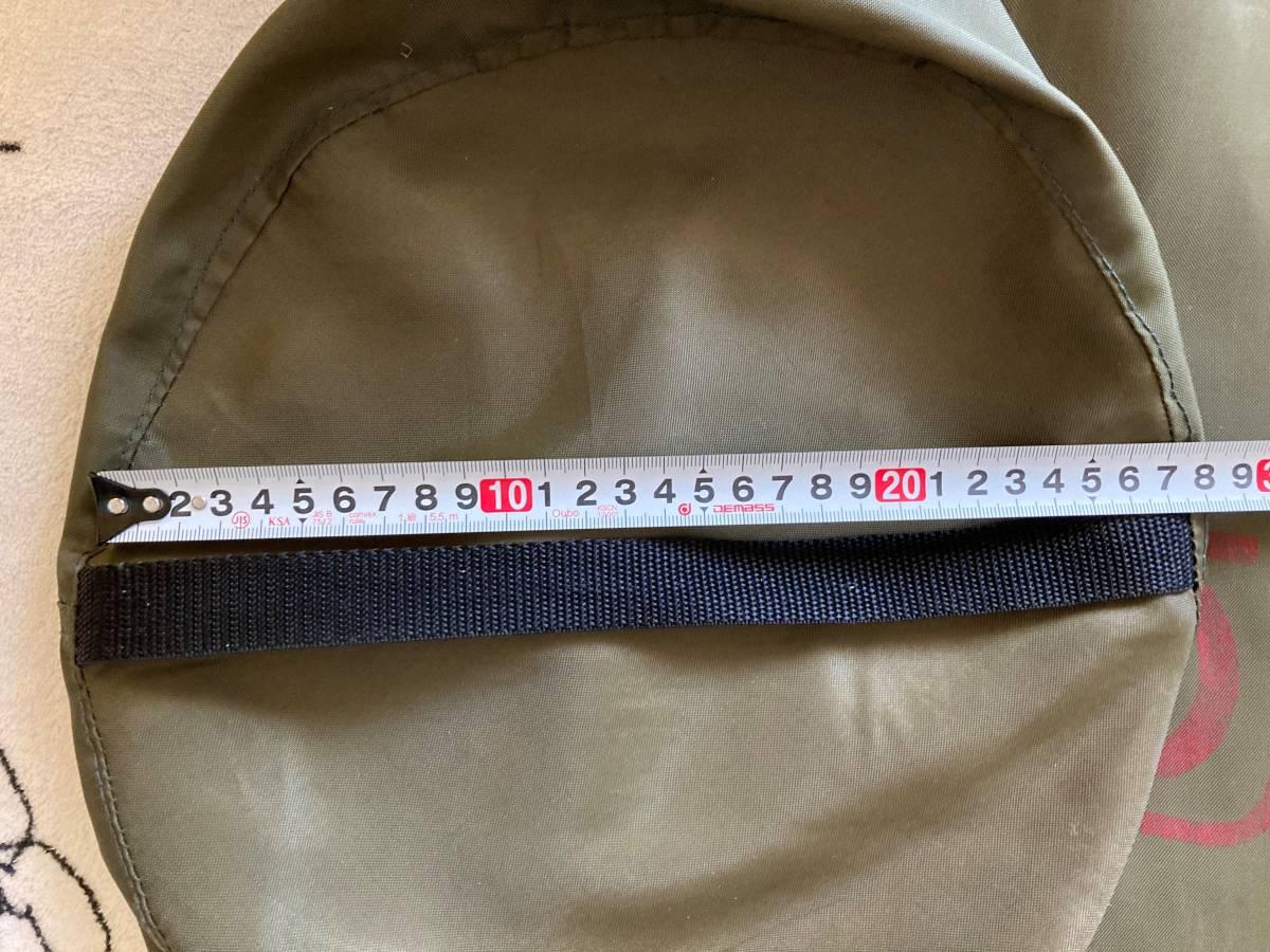COLMAN コールマン、寝袋の袋、シュラフの袋 ビニール、小物入れ、寝袋の袋、封筒型、1か所汚れあり_画像4
