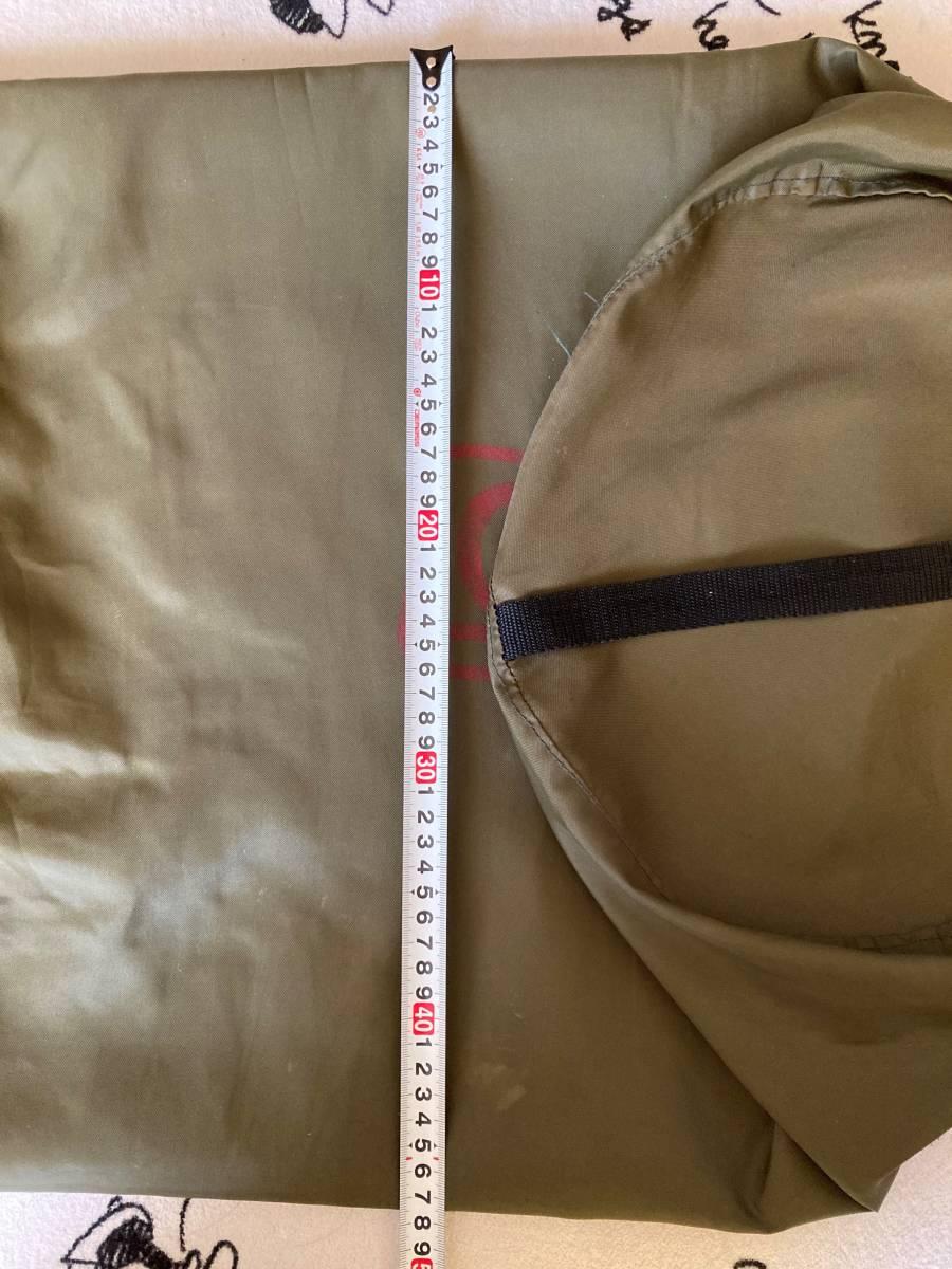 COLMAN コールマン、寝袋の袋、シュラフの袋 ビニール、小物入れ、寝袋の袋、封筒型、1か所汚れあり_画像5
