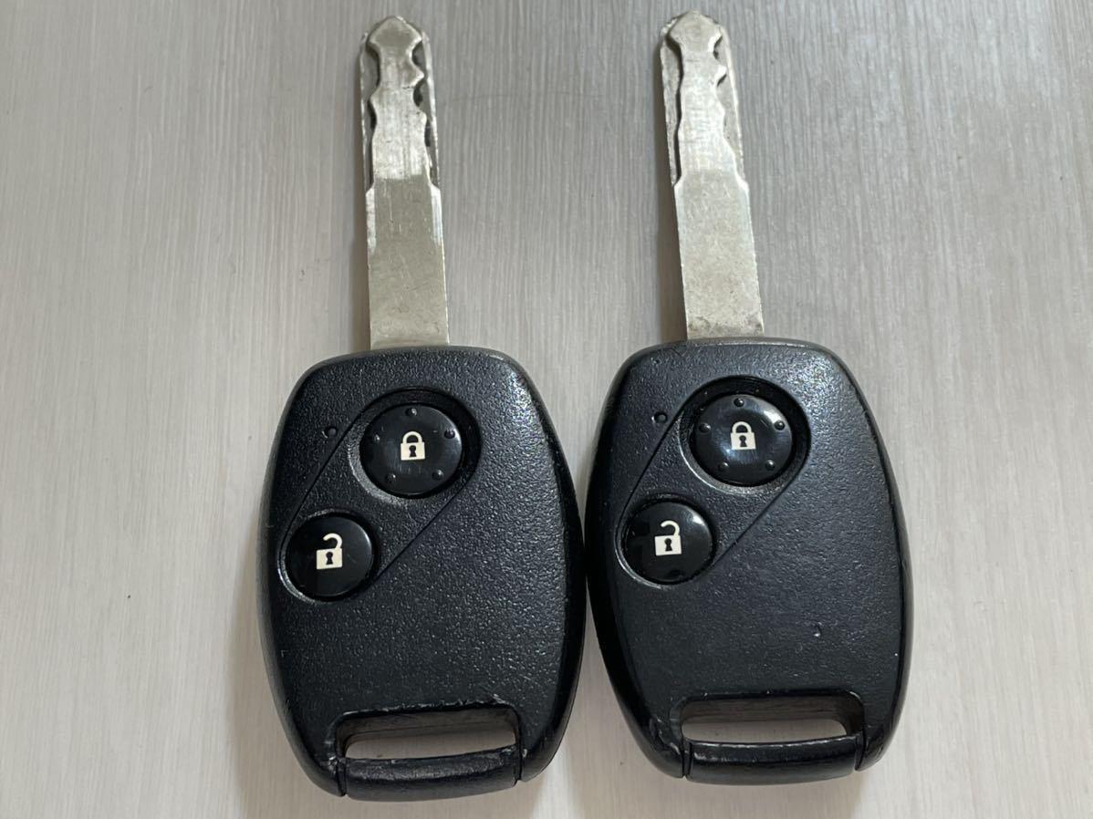 ホンダ フィット 純正 キーレス リモコン 2ボタン 2個セット L刻印 GE オデッセイ CR-V ストリーム GE6 RB1 RN6_画像1