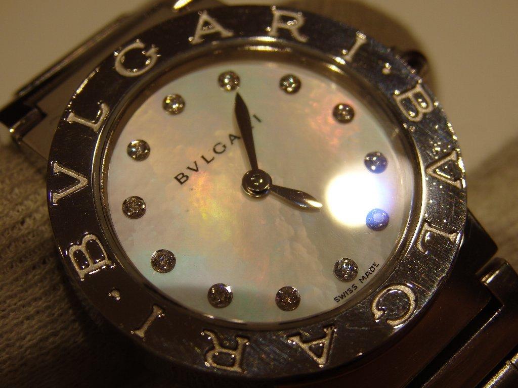 ブルガリ ブルガリ シエル/ダイヤ文字盤時計 BBL26S/12PD_画像7