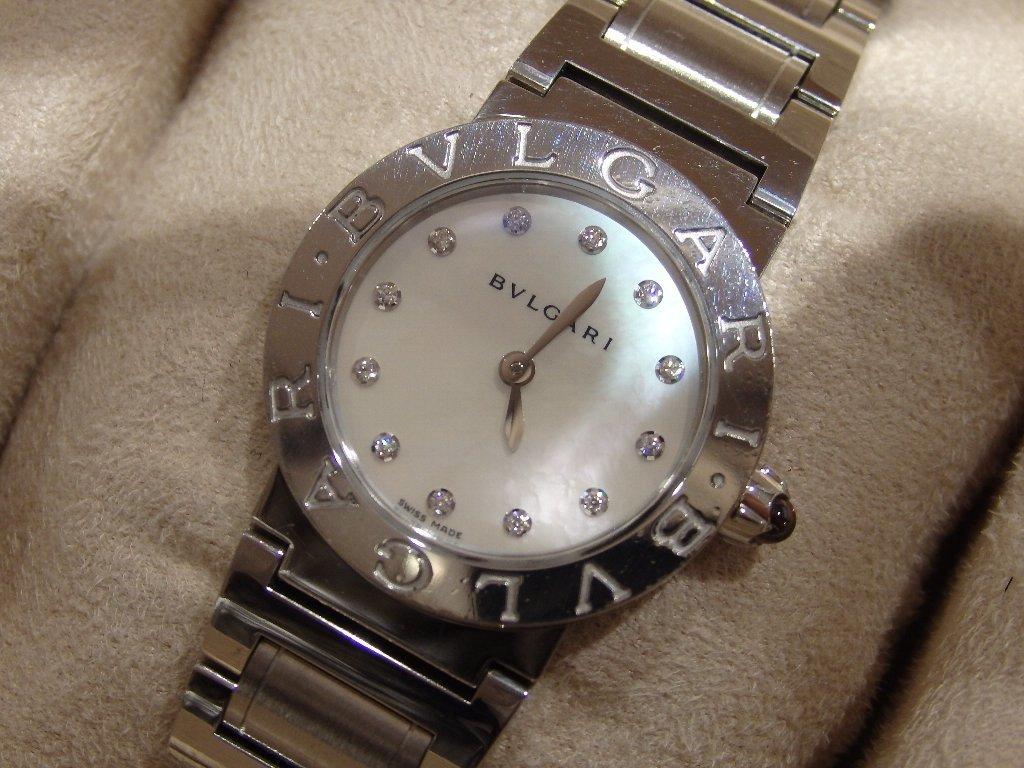 ブルガリ ブルガリ シエル/ダイヤ文字盤時計 BBL26S/12PD_画像2