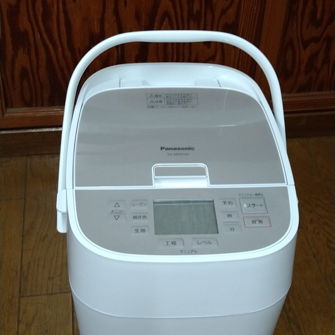 Panasonicホームベーカリー SD-MDX102-W