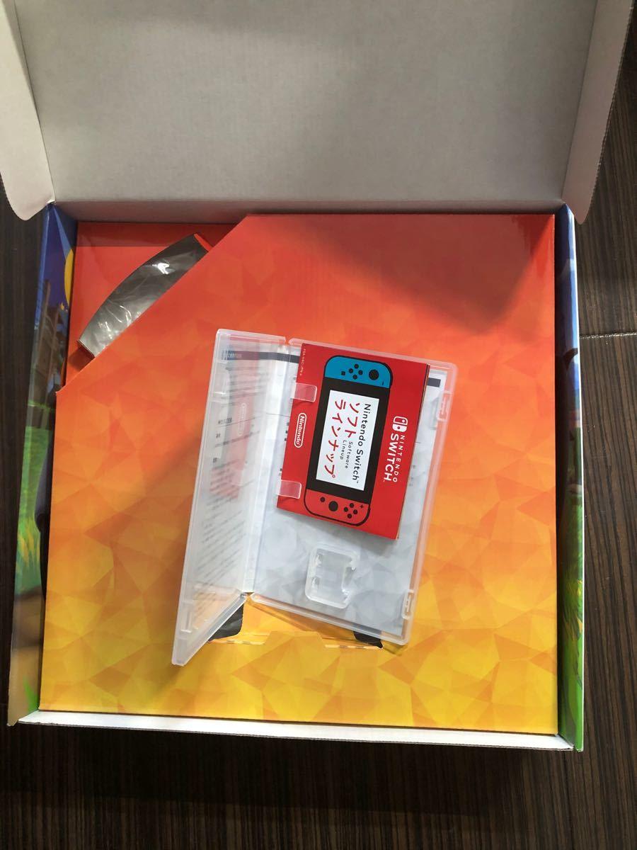 リングフィットアドベンチャー ソフトなし リングコン レッグバンド 箱