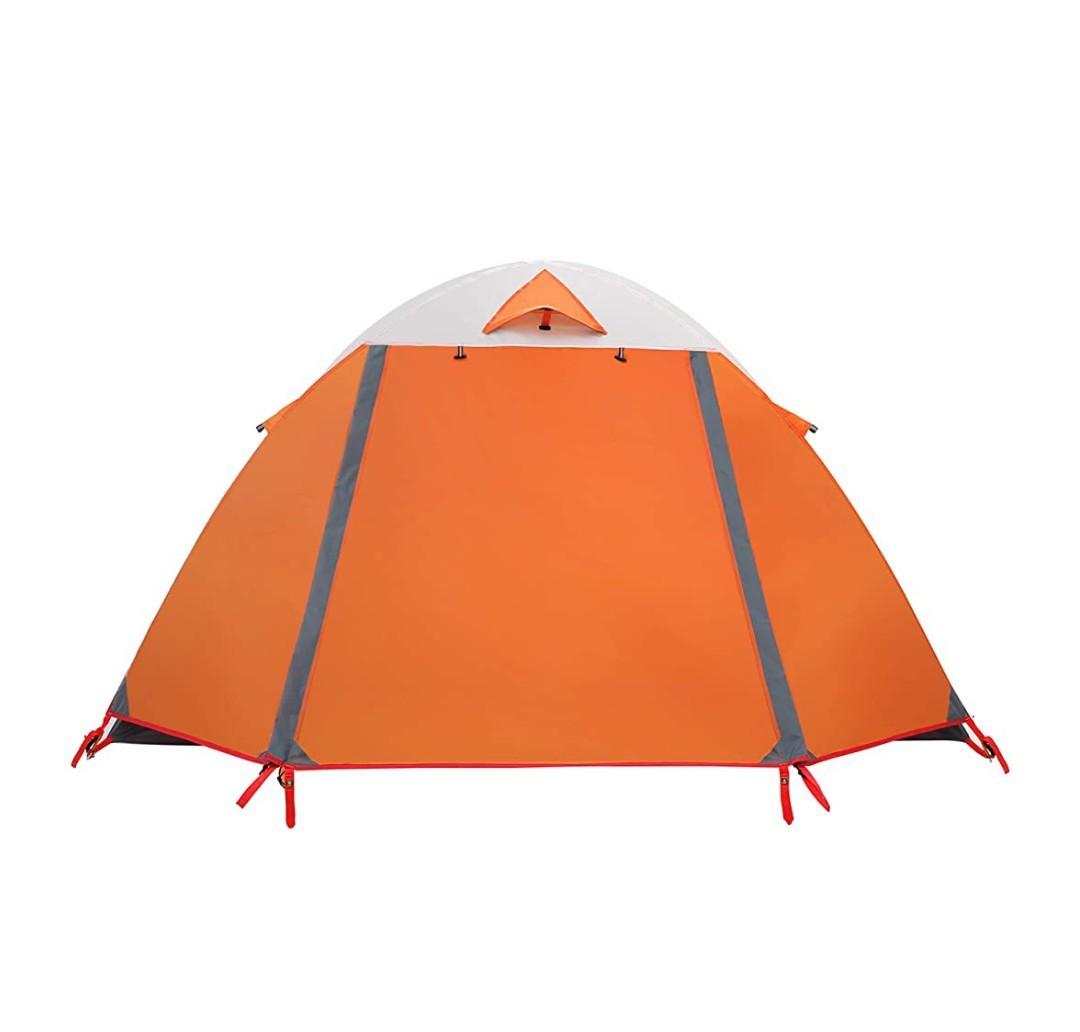 本格ドームテント 最新吊り下げ式 二人用 一人用 ソロテントツーリング  UVカット 軽量 コンパクト