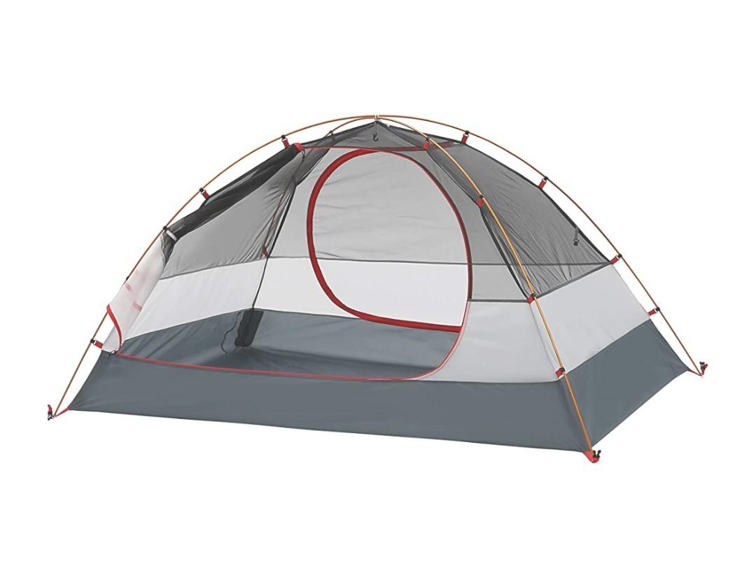 5月末迄最終セール! 最新式本格ドームテント  二人用 ソロ ツーリング オレンジ 軽量 コンパクト キャンプ