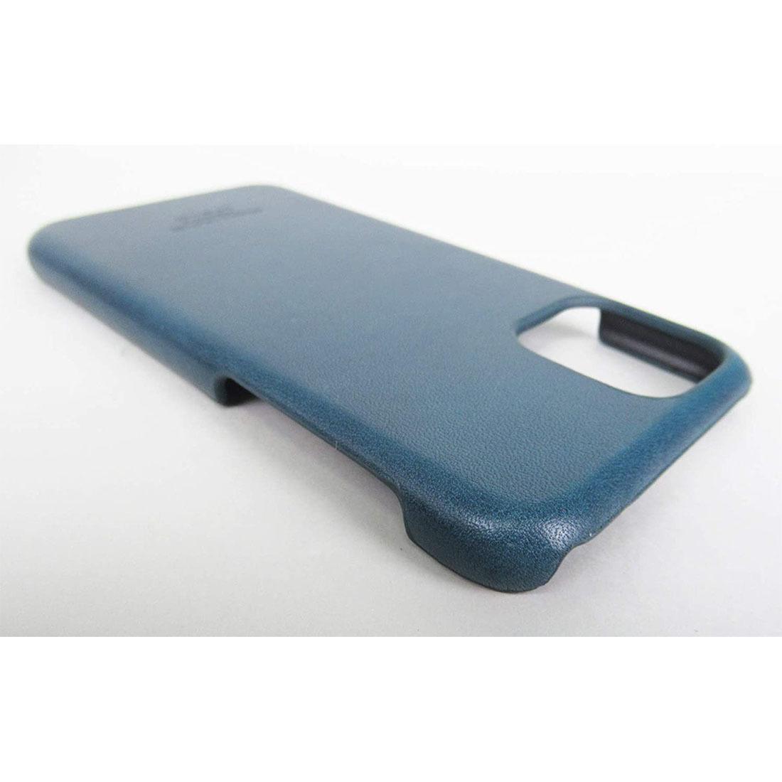 ●新品●栃木レザー iPhone 11 Pro ケース ネイビー 本革_画像7