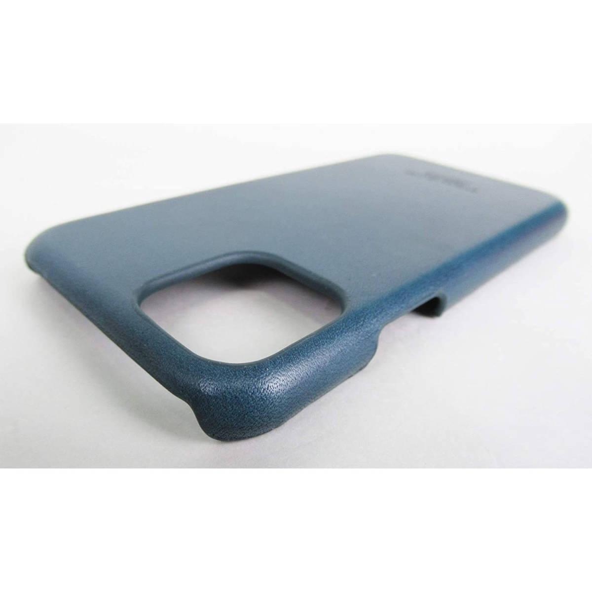 ●新品●栃木レザー iPhone 11 Pro ケース ネイビー 本革_画像6