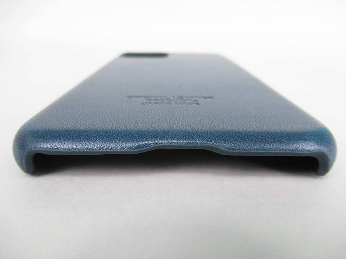 ●新品●栃木レザー iPhone 11 Pro ケース ネイビー 本革_画像5