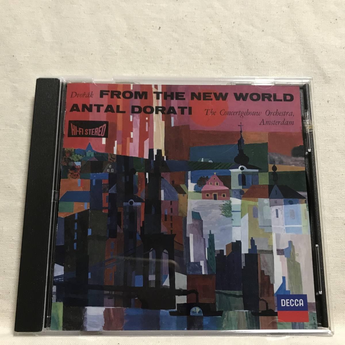 ドラティ / ドヴォルザーク: 交響曲第9番「新世界より」/コンセルトヘボウ管●廃盤 入手困難 DECCA<タワーレコード限定>レア_画像5