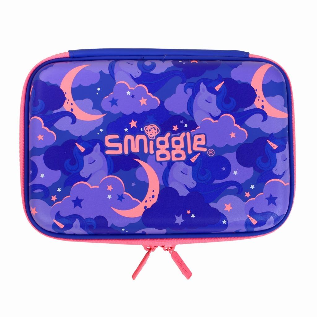筆箱 ペンケース ハードジップ 新品未使用 smiggle スミグル ユニコーン / 色パープル Seek Hardtop Pencil Case(Purple)_画像2