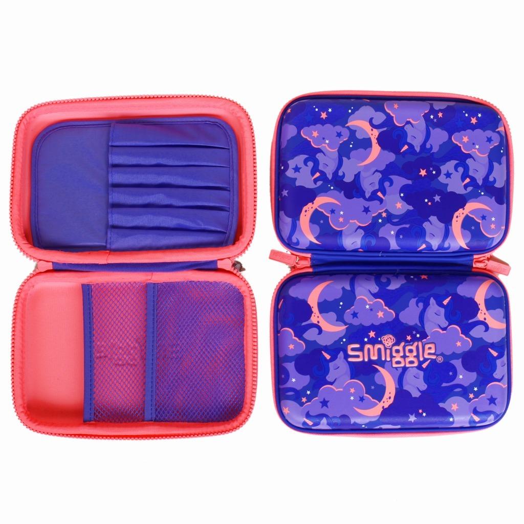 筆箱 ペンケース ハードジップ 新品未使用 smiggle スミグル ユニコーン / 色パープル Seek Hardtop Pencil Case(Purple)_画像3