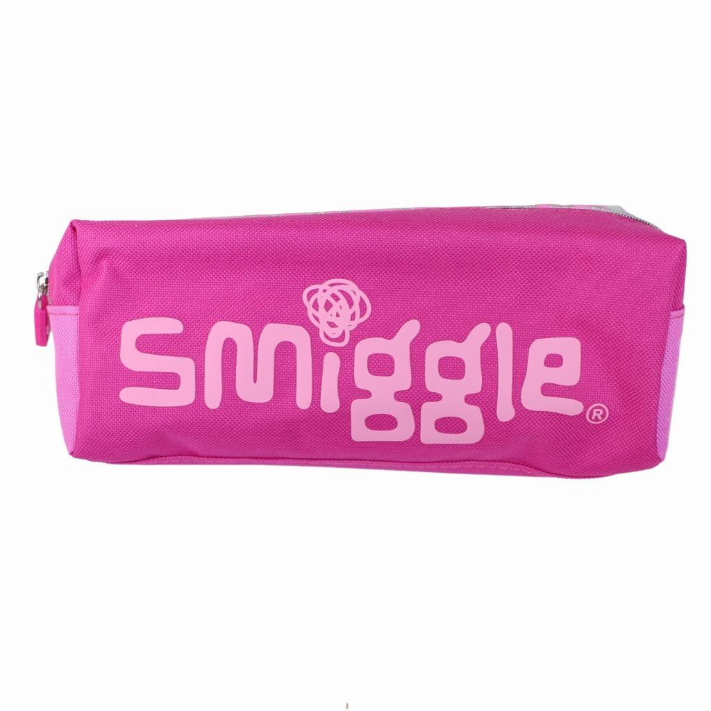 筆箱 ソフト ペンケース smiggle スミグル ピンク色 ヒョウ柄 Block Twin Zip Pencil Case(Pink ) おしゃれ_画像6