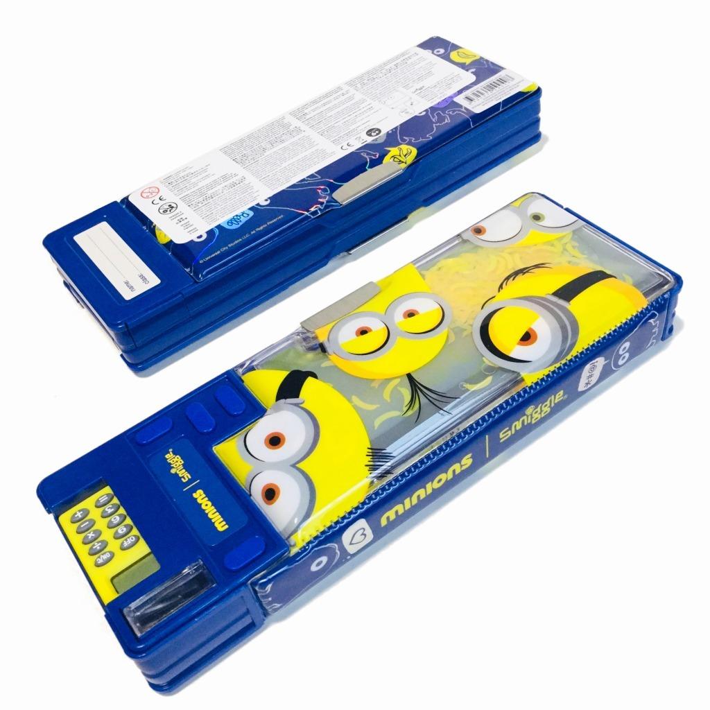 飛び出すギミック筆箱 ミニオンズ 新品未使用 smiggle スミグル ピクサー Minions Pop Out Pencil Case ミニオンズグッズ 送料無料_画像2