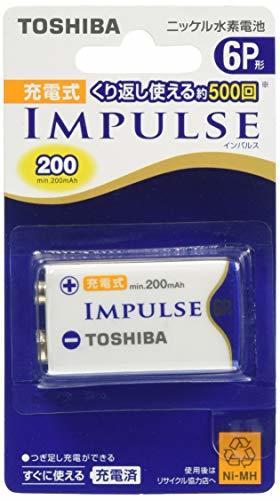TOSHIBA ニッケル水素電池 充電式IMPULSE 単6P形充電池(min.200mAh) 1本 6TNH22A_画像3