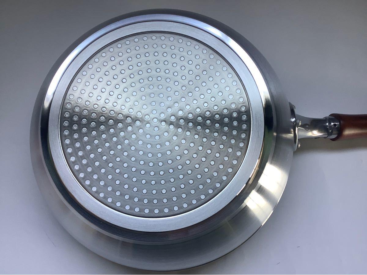 深型フライパン 26センチ アルミ合金 軽量 軽い IH対応 新品 サンプル取り寄せ品
