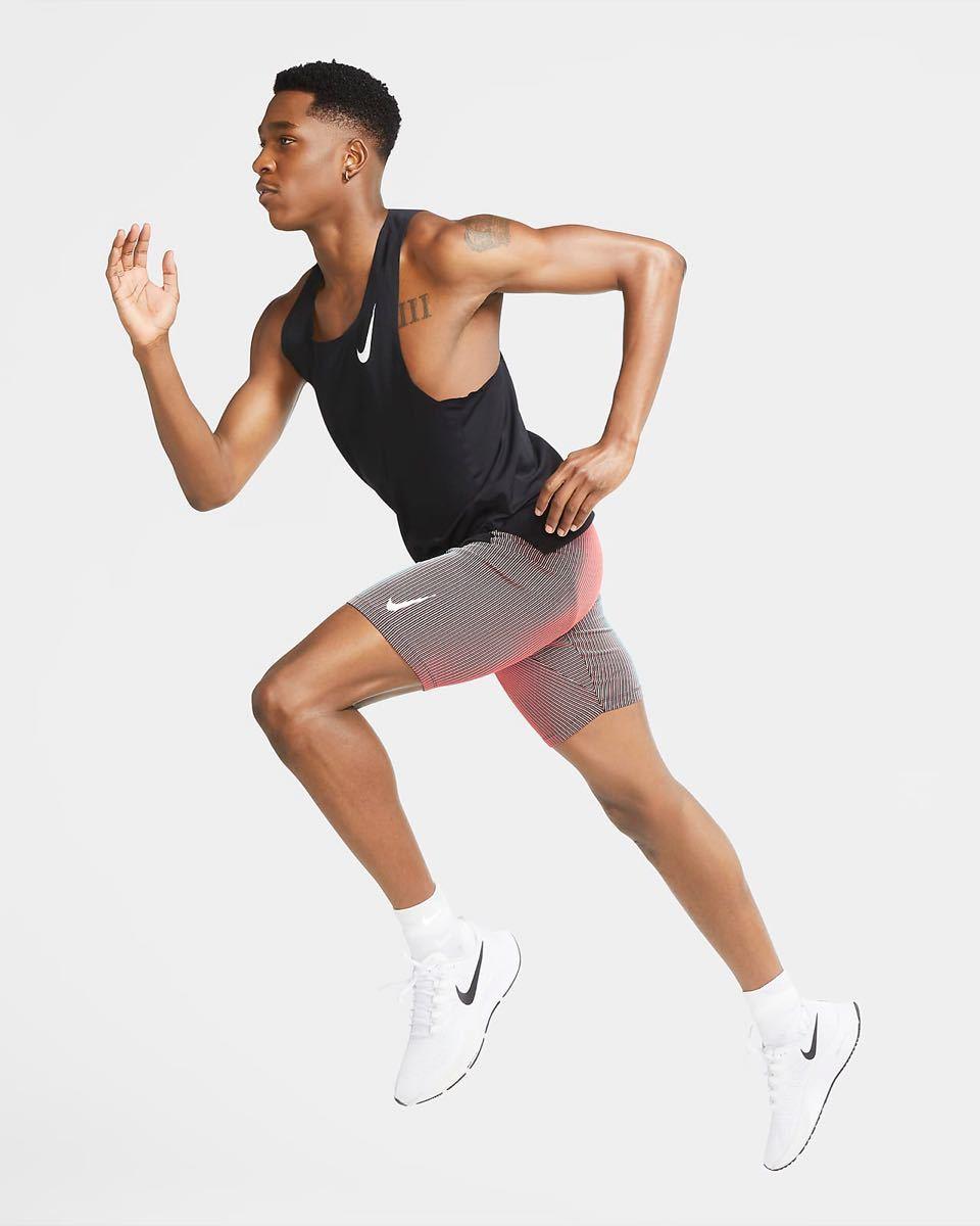 Nike ナイキ 2/1 レングス ランニングタイツ L マラソン 陸上 ジム