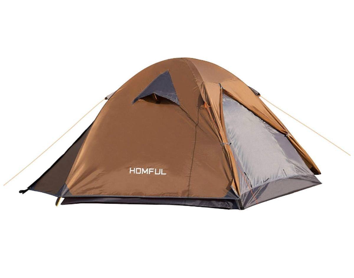 キャンプテント2人用 設営簡単 防災用 キャンプ用品 登山 折りたたみ 超軽量 紫外線防止 防水
