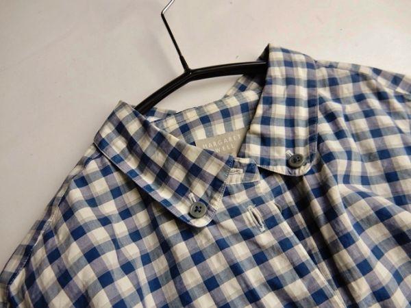 マーガレットハウエル MARGARET HOWELL コットン100%大人可愛い使えるボタンダウンシャツ♪_画像3