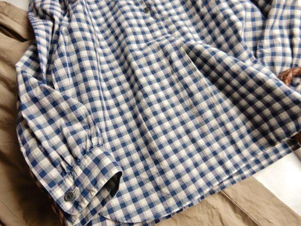 マーガレットハウエル MARGARET HOWELL コットン100%大人可愛い使えるボタンダウンシャツ♪_画像5