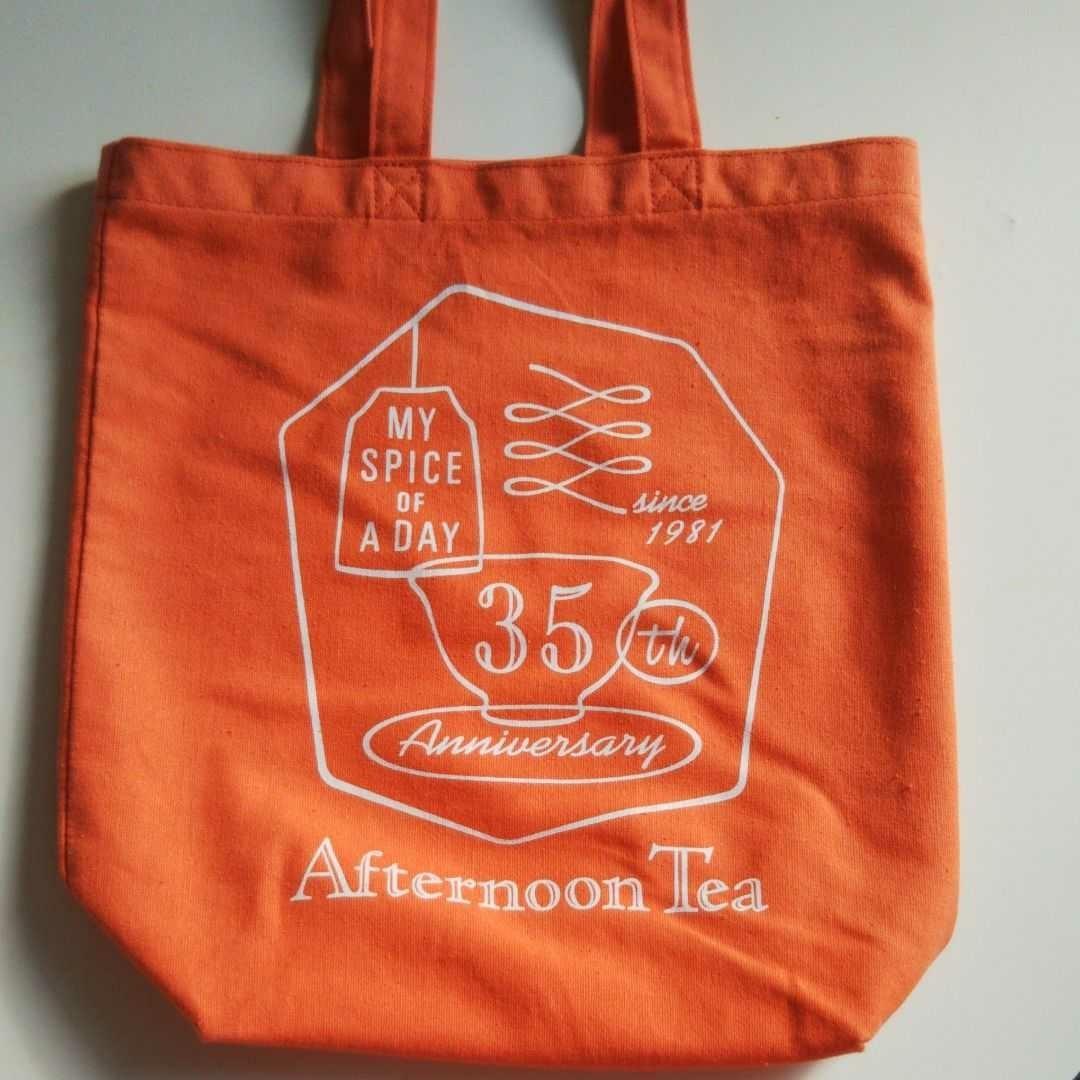 トートバッグ【アフタヌーンティー】トートバッグ エコバッグ  35周年メモリアルバッグ