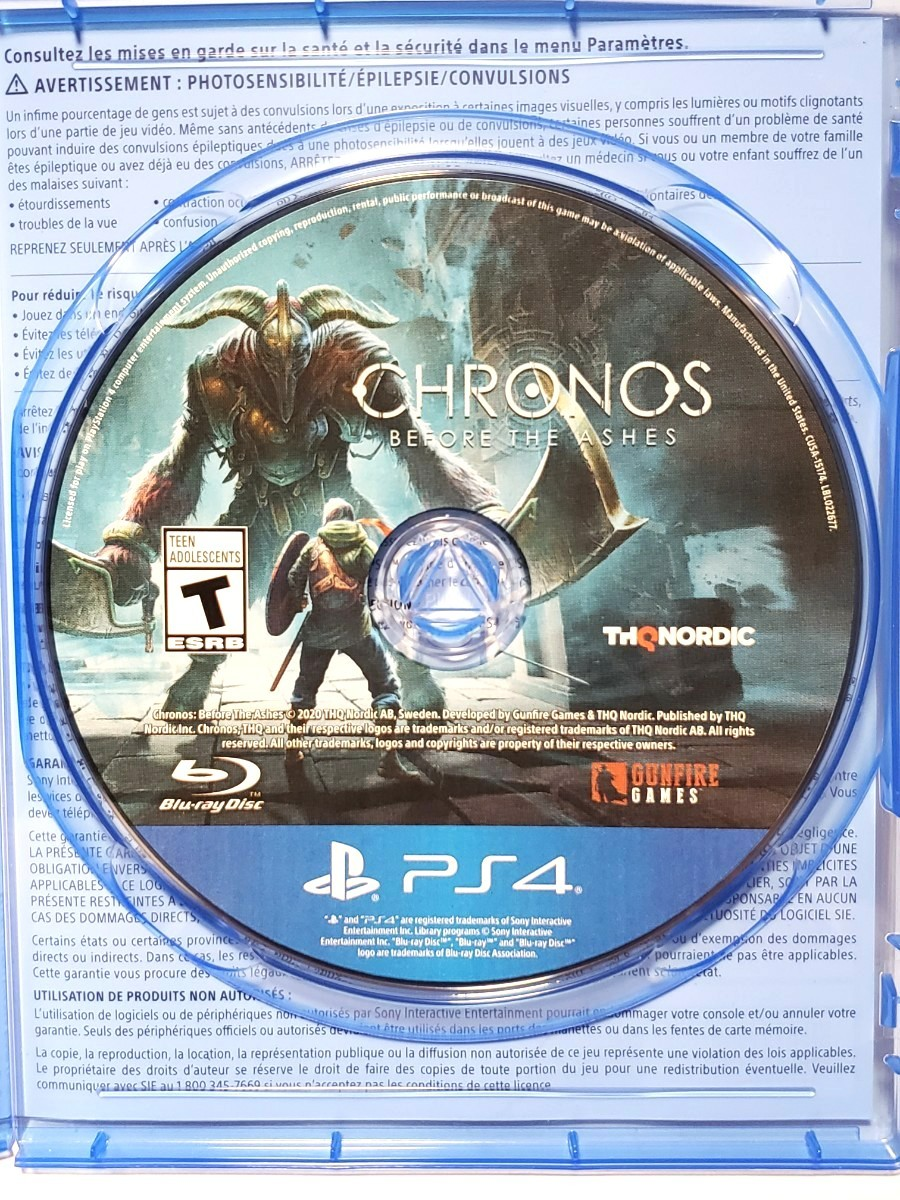 PS4 クロノス:ビフォー ジ アッシュ 北米版