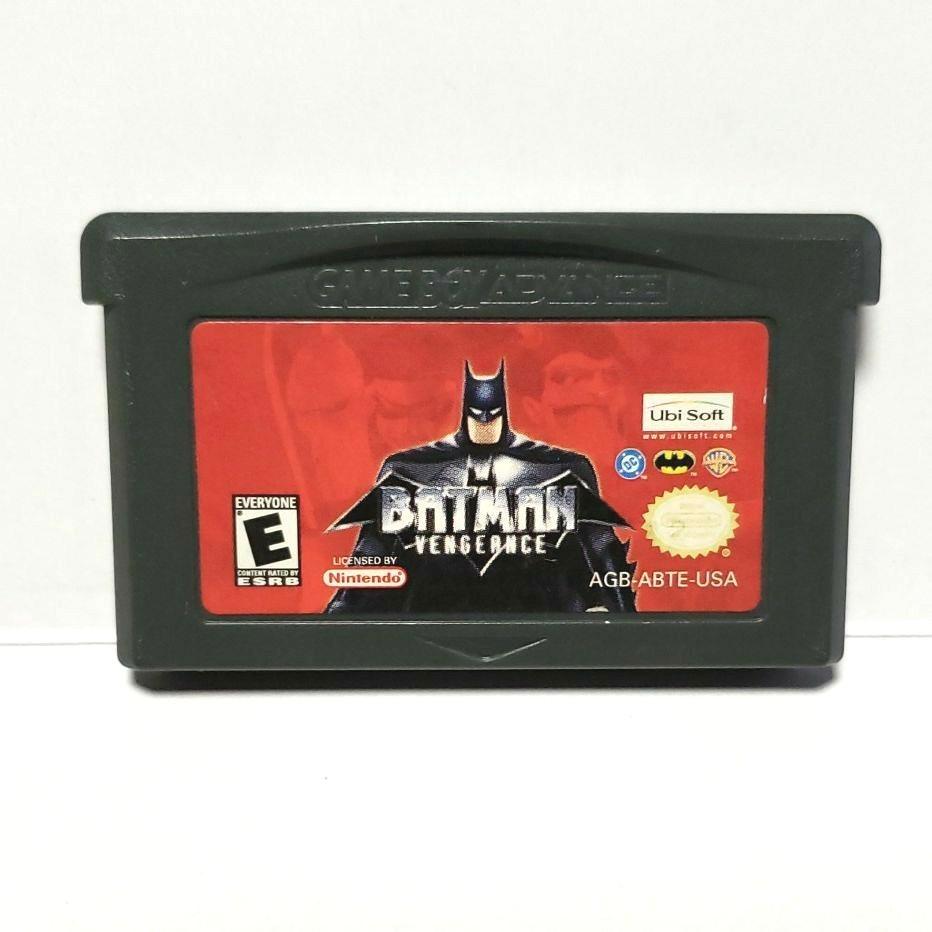 GBA ゲームボーイアドバンス BATMAN VENGEANCE