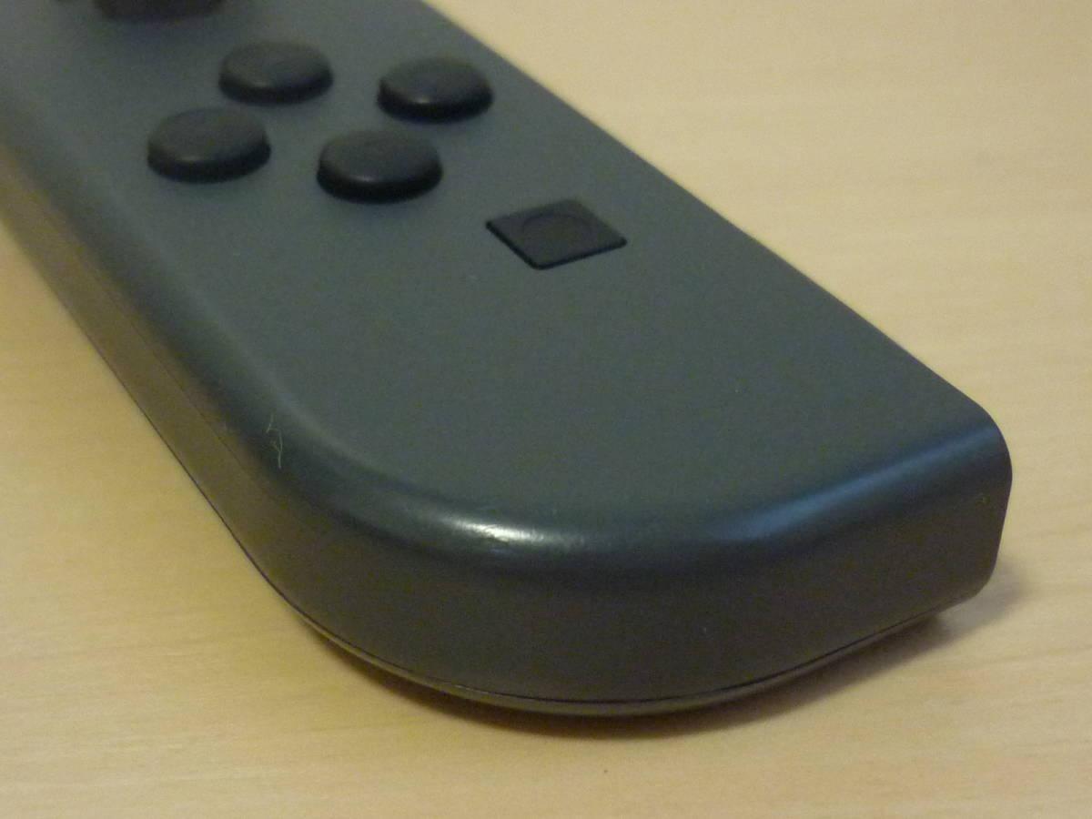 ◇■ 任天堂純正品 Nintendo Switch Joy-Con(L) グレー ストラップ付 動作確認済 ジョイコン コントローラー 中古 即決_画像5