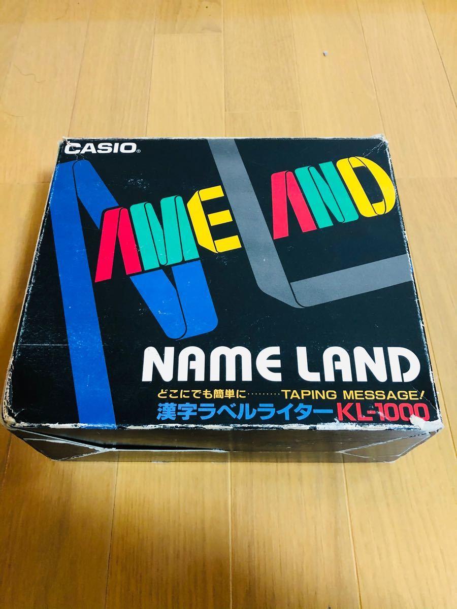 CASIO 漢字ラベルライター KL-1000