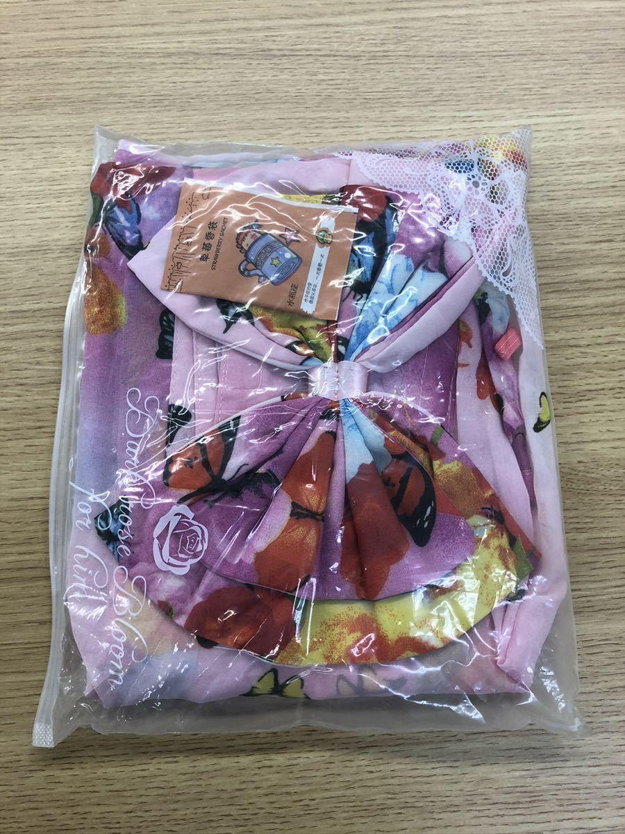 セクシーランジェリー 花柄 和服 制服 透け透け コスプレ 浴衣コスプレ衣装 コスチューム ピンク花柄エロ可愛い 透け感セクシー