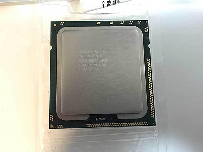 W3530 2.8GHz クアッドコア Intel Xeon  MacPro 2010から_画像1