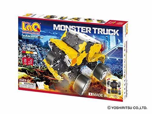 LaQ (ラキュー) ハマクロンコンストラクター モンスタートラック_画像8